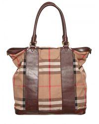 Burberry | Brown Blarney Tote Bag for Men | Lyst