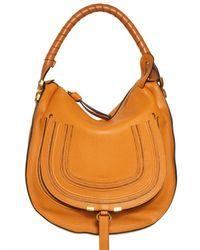 Chloé - Yellow Medium Marcie Hobo Shoulder Bag - Lyst