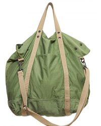 Closed | Green Twill Cotton Slouchy Shoulder Bag for Men | Lyst