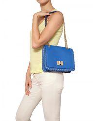 Emilio Pucci | Blue Marquise Nappa Solid Shoulder Bag | Lyst