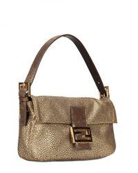 Fendi - Brown Baguette Shoulder Bag - Lyst