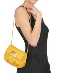 Fendi | Yellow The Sta Mini Shoulder Bag | Lyst