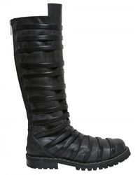Gareth Pugh | Black Mens High Strapped Boot for Men | Lyst