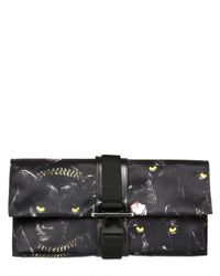 Givenchy - Black Evening Panther Print Clutch - Lyst