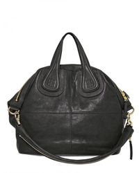 Givenchy | Black Nightingale Medium Smooth Top Handle | Lyst