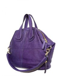 Givenchy - Purple Nightingale Medium Smooth Top Handle - Lyst