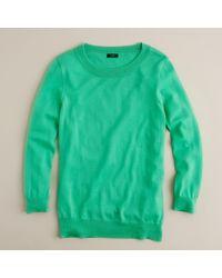 J.Crew | Green Tippi Sweater | Lyst