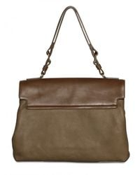 Lanvin | Brown Miss Sartorial Calfskin Shoulder Bag | Lyst
