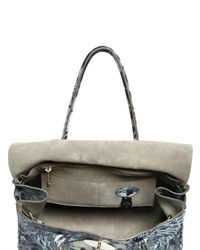 Mulberry | Gray Bayswater Feather Print Shoulder Bag | Lyst