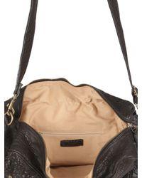 Officine Creative - Black Textured Calfskin Weekender Bag for Men - Lyst
