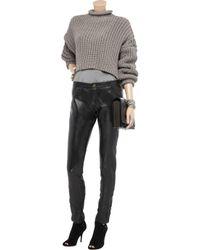 Sara Berman | Black Skinny Leather Pants | Lyst