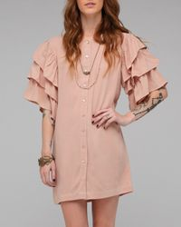 American Gold - Pink Spanish Moon Dress - Lyst