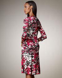 Rena Lange - Multicolor Animal-print Dress - Lyst
