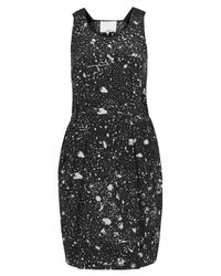 3.1 Phillip Lim | Blue Splatter Print Silk Dress | Lyst