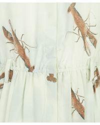 Antipodium - Green Mint Lobster Shirt Dress - Lyst