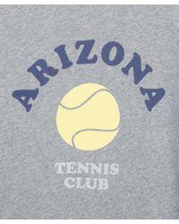 A.P.C. - Gray Grey Arizona Tennis Sweatshirt - Lyst