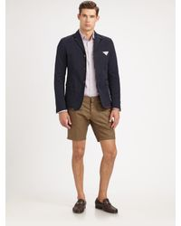 DSquared² Brown Cool Guy Shorts for men