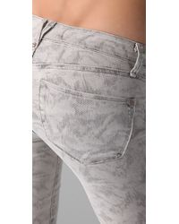 Marc By Marc Jacobs | Gray Gaia Super Skinny Jeans | Lyst