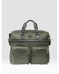 Tumi | Green Alpha Bravo Large Duffel for Men | Lyst