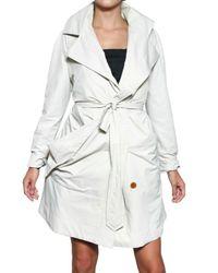 Vivienne Westwood | White Waterproof Cotton Gabardine Trench Coat | Lyst