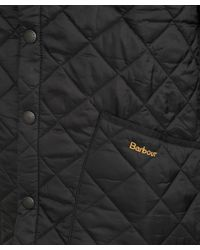 Barbour - Black Heritage Fit Liddesdale Jacket for Men - Lyst