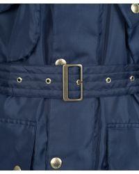 Barbour Blue International Nylon Jacket for men