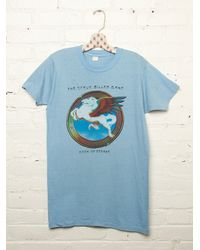 Free People | Blue Vintage Steve Miller Band Tee | Lyst