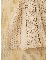 Free People | Natural Vintage Crochet Apron | Lyst