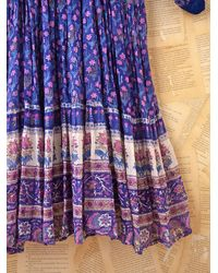 Free People - Multicolor Vintage Indian Gauze Dress - Lyst