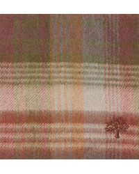 Mulberry - Brown Cashmere Plaid Scarf for Men - Lyst