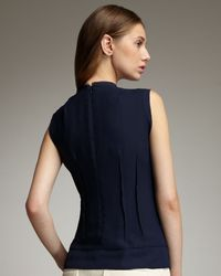 Nanette Lepore - Blue Embroidered Top - Lyst