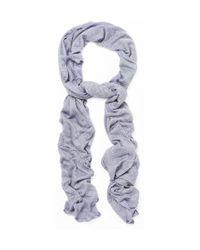Rag & Bone - Blue Milde Striped Scarf for Men - Lyst