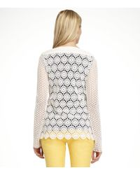 Tory Burch | White Janeen Top | Lyst