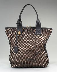 Alexander McQueen   Pink Mini Padlock Ziparound Bag   Lyst