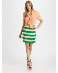 By Malene Birger - Multicolor Miralli Striped Skirt - Lyst