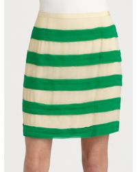 By Malene Birger | Multicolor Miralli Striped Skirt | Lyst
