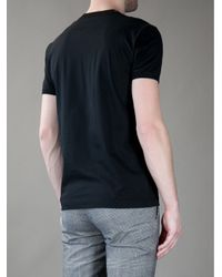 Dolce & Gabbana Black Dennis Hopper Printed Jersey T-shirt for men