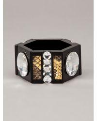 Holly Fulton | Brown Hexagon Bracelet | Lyst