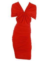 Lanvin   Red Dress   Lyst