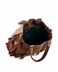 Proenza Schouler | Brown Ps1 Tote Leather | Lyst