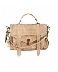 Proenza Schouler | Natural Medium Suede Ps1 | Lyst