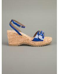Stella McCartney | Blue Bracelet Sandal | Lyst