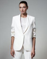 Stella McCartney | White Boyfriend Jacket | Lyst