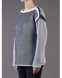 Alexander Wang Black Chunky Knit Pullover