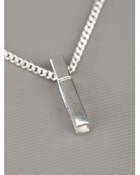 Karen Walker | Metallic Peg Necklace | Lyst