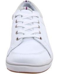 Keds | White Womens Startup Ltt Lace-Up Fashion Sneaker | Lyst