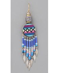 Vanessa Mooney - Blue Fly Girl Earrings - Lyst