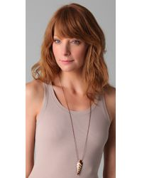 Vanessa Mooney Metallic Shoshone Arrowhead Necklace
