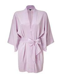 3.1 Phillip Lim - Purple Lilac Kimono Sash Jacket - Lyst
