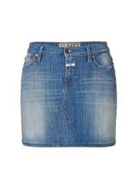 Closed - Blue Darby Denim Mini Skirt - Lyst